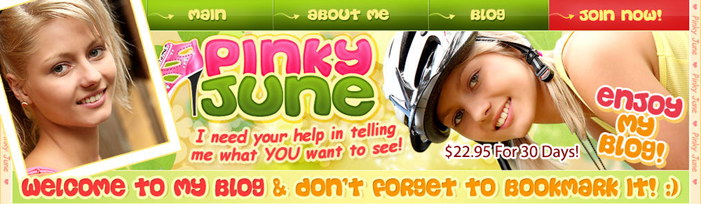 Pinky June Discount: Was $29.95 Month, Now Only $22.95, save $7.00!